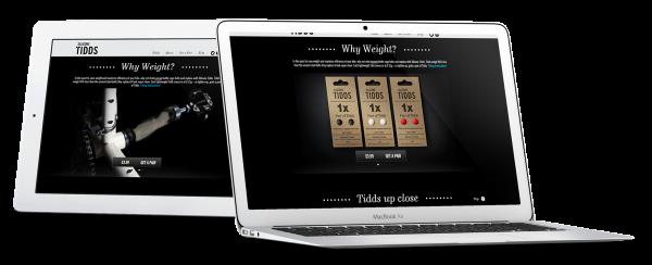 Silicone Tidds Website Development