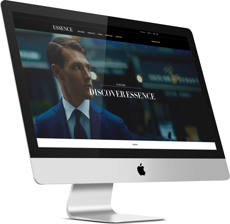 Essence London Website Development 3