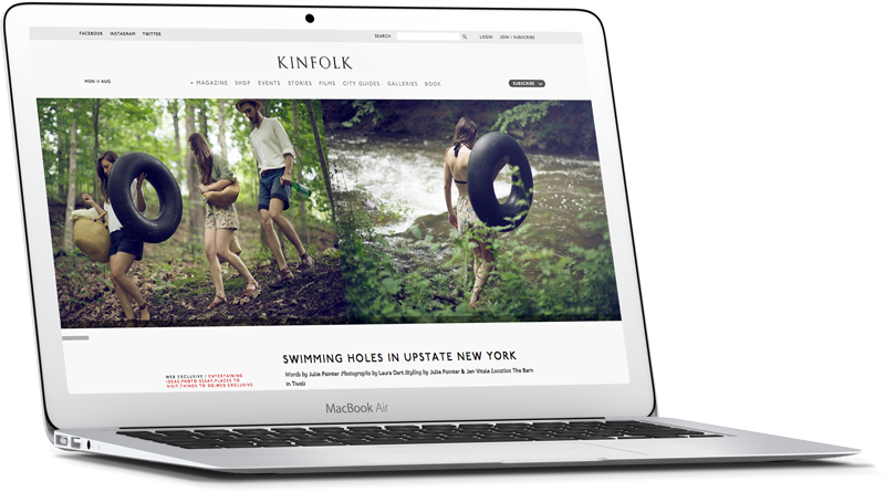 kinfolk Website Development