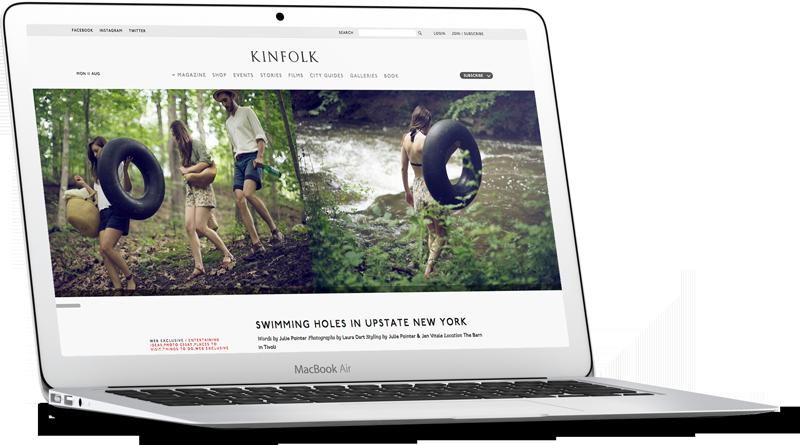 kinfolk Website Development
