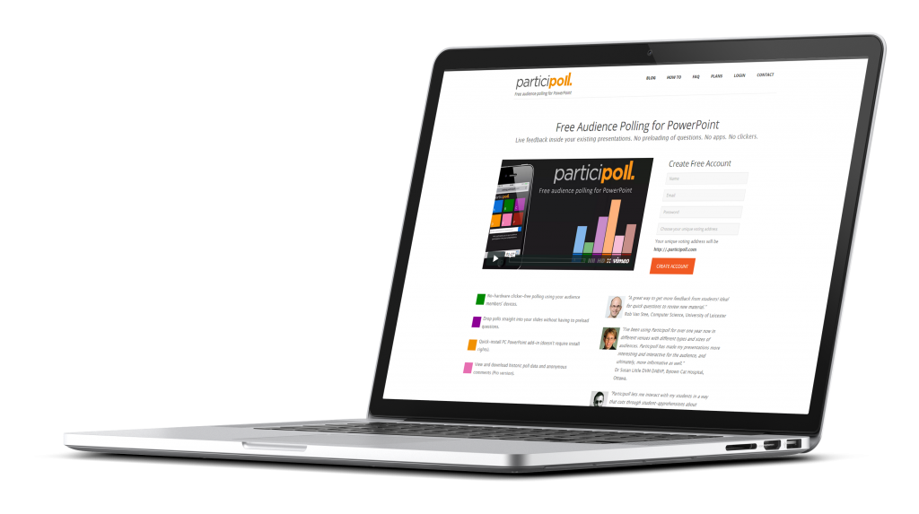 Participoll Website Development
