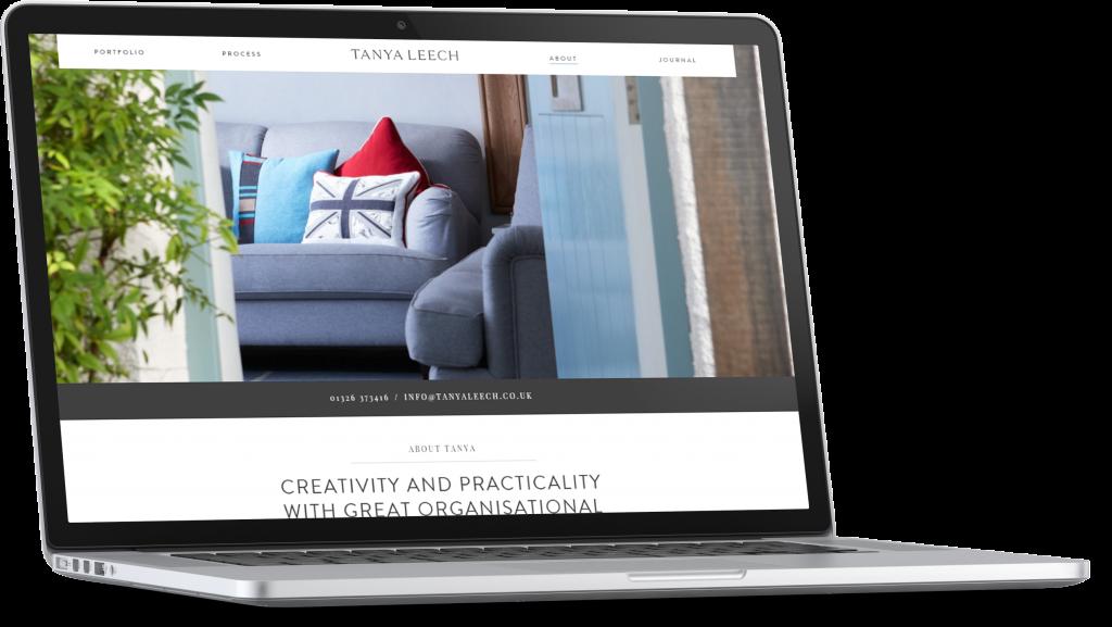 Tanya Leech website development