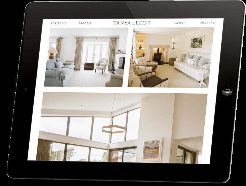 Tanya Leech responsive website development