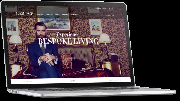 Essence London Website Development